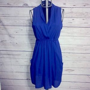 Bar III Royal Blue Dress